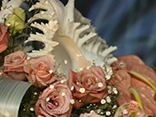 Innovations using spheres and shells from the Morrinsville Floral Festival.
