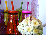 Make flower arrangements for your local shops and businesses.