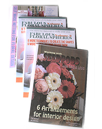 save money with flower arranging dvds as boxed sets