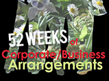 52 weeks of corporate designing with flowers