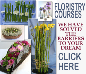 You too can become an outstanding florist with the right training and guidance.