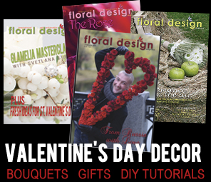 Learn from expert florists as they guide you through making all the fabulous flower arrangements for Valentine's Day.