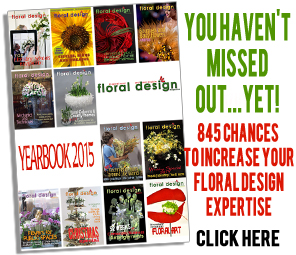 floral design magazine Yearbook 2015