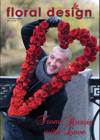 The Russian florists are some of the best in the world and their outstanding modern flower designs are revealed step by step in this stunning edition of floral design magazine