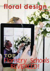 This affordable edition of floral design magazine gives you latest  designs from the floristry schools