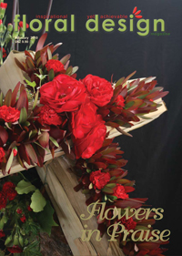 This affordable edition of floral design magazine give syou even more ideas for  creating flowers for a church, that are long lasting, low budget and still create the wow!