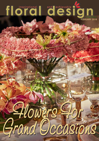 Flowers for Grand Occasions to copy for your own floral event. floraldesignmagazine.com