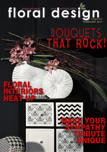 how to create or make floral bouquets, flowers for interior design decor, bridal posy bouquets, floral sympathy tributes, floral decor with floraldesignmagazine.com