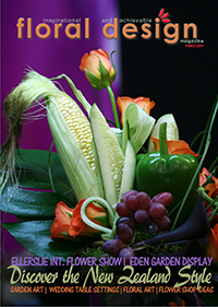 Creative Flower Arranging is the theme in this stunning edition of floral design magazine