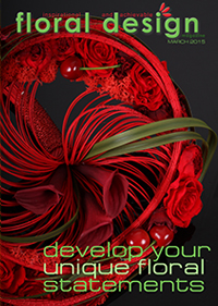 Develop your Unique Floral Statements in this edition of floral design magazine