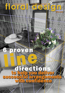Discover the hidden truths about line in floral design with floraldesignmagazine.com