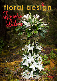 This affordable edition of floral design magazine gives you flower arranging ideas using Lilies!