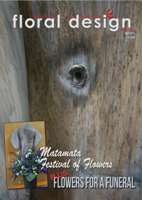 If you are after more creative ideas , this is the edition of floral design magazine for you.