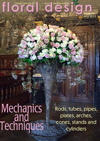 Flower Arranging Mechanics and Techniques  in this stunning edition of floral design magazine