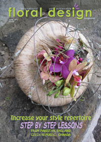 Increase your style repertoire, with step by step lessons, this is the edition of floral design magazine for you.