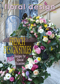 This affordable edition of floral design magazine gives you romantic flower arranging ideas