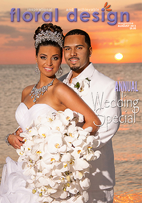 Wedding Flowers flower arrangements; If you are a about to become a bride, this is the edition of floral design magazine for you.