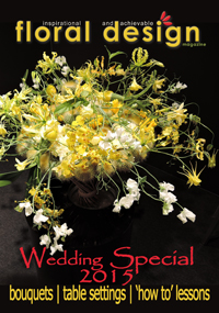 New Levels of Wedding Flower Success: Special Edition of floral design magazine