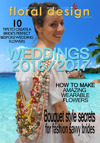 Wedding Annual 2016/2107 floral design magazine