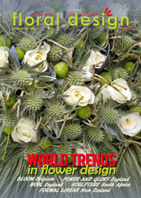 Keep current in your flower arrangang by following the world trends in flower design