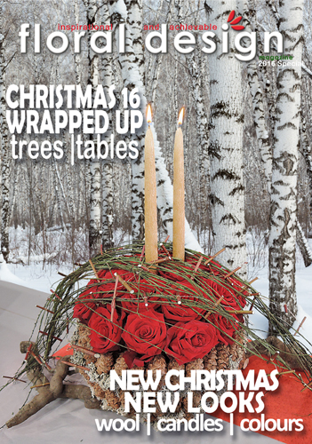 Christmas Flower Arranging Special  2016 with floral design magazine