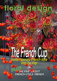 This affordable edition of floral design magazine takes you to the heart of French floristry and the fabulous step by step  photos of the top florists ! PLUS expect to see French techniques and trends you will not have seen before.