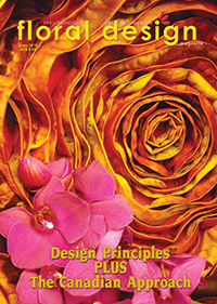 learn the design principles of flower arranging as well as try out easy step by step flower arranging lessons with Canadian  flower arrangers.