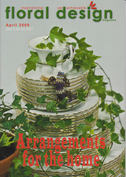 Floral Design Magazine: Flower arrangements for your home with floral design magazine