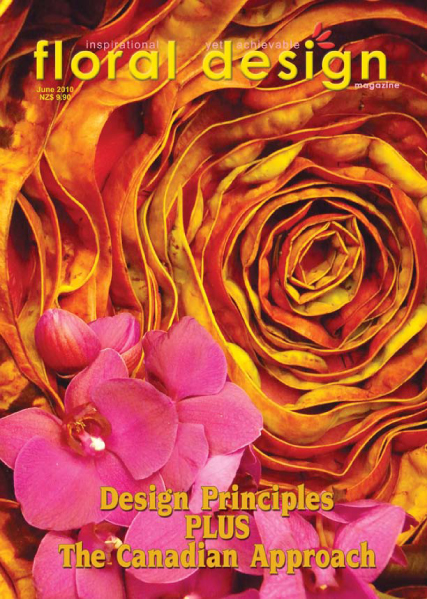 Floral Design Magazine: Flower Arranging Principles and the Canadian Approach with floral design magazine