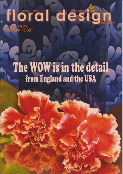 Floral Design Magazine: The WOW is in the detail from England and the USA with floral design magazine