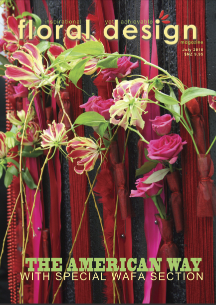 Floral Design Magazine: The American Way of flower arranging with floral design magazine