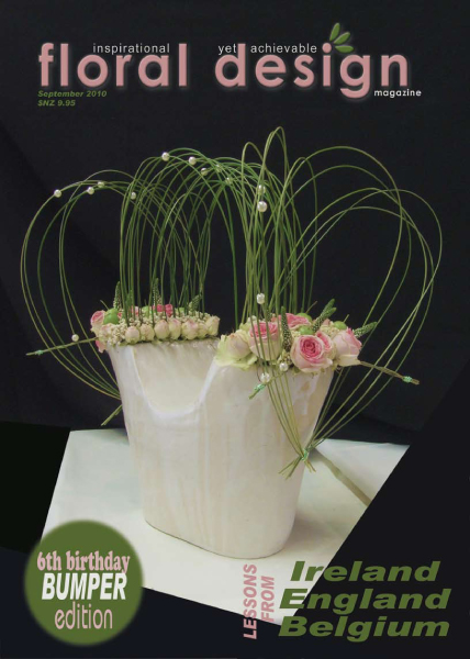 Floral Design Magazine: Lessons from Ireland, England and Belgium with floral design magazine
