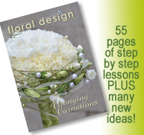 If you are after ideas for the marketing your flower business, this is the edition of floral design magazine for you.
