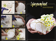 make your own flower arrangements for romance on Valentines Day on DVD and  more lessons in the magazine-floraldesignmagazine.com